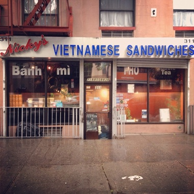 Nicky&#039;s Vietnamese Sandwiches