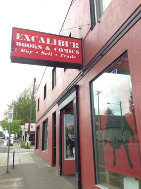 Excalibur Books &amp; Comics