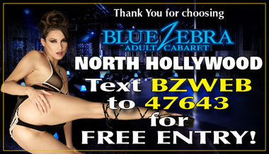 Blue Zebra Adult Cabaret