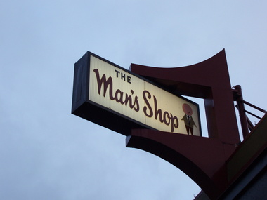 Man&#039;s Shop