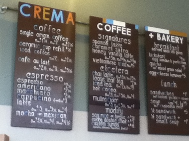Crema Coffee + Bakery