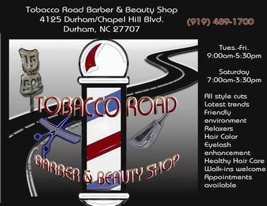 Tobacco Road Barber & Beauty