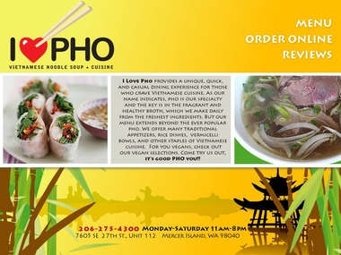 I Love Pho