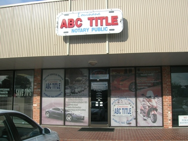 ABC Notary &amp; Auto Title Transfer