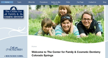 Center For Family And Cosmetic Dentistry