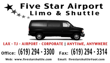 Five Star Airport Limo-Shuttle