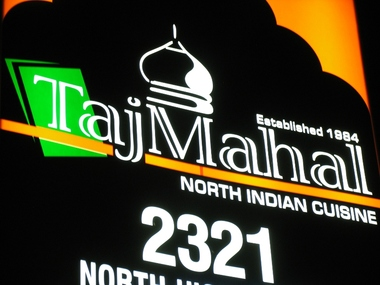 Taj Mahal Restaurant &amp; Taj Bar