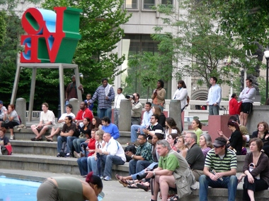 LOVE Park - (JFK Plaza)