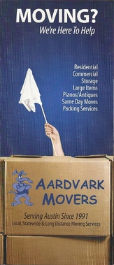 Aardvark Movers, Austin Texas Moving Company