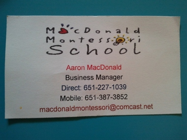 Mac Donald Montessori School