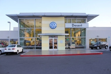 Desert Volkswagen