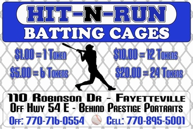 Hit N Run Batting Cage