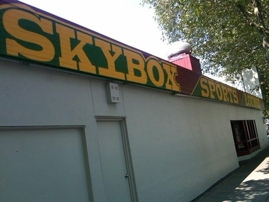The Skybox Lounge