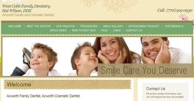 Adams, Christopher, Dds - West Cobb Family Dentistry