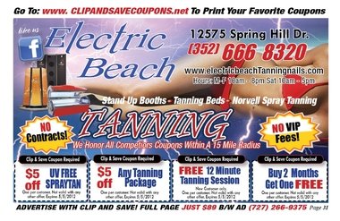 Electric Beach Nail & Tanning