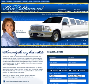 Aaa Blue Diamond Limousines