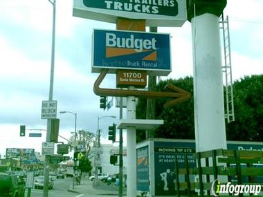Budget Truck Rental West La Trailer