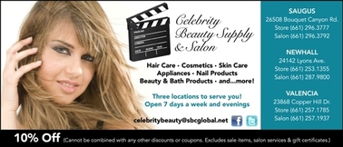 Celebrity Beauty Supply & Salon