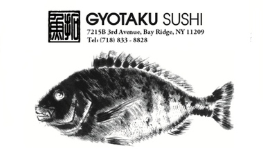 Gyotaku Sushi