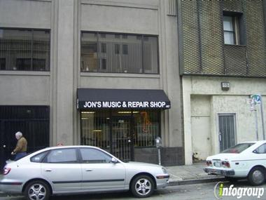 Jon&#039;s Music &amp; Repair Shop