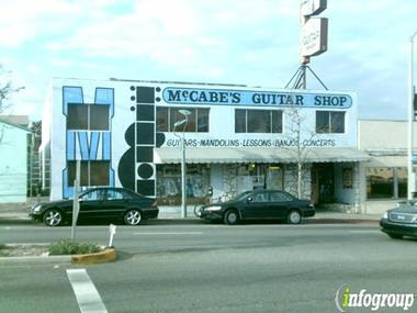 Mc Cabe's Guitar Shop