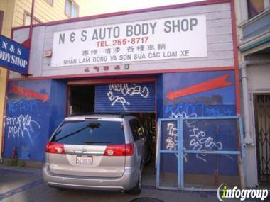 N &amp; S Auto Body Shop