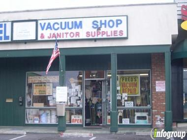 Fred Hall Vacuum &amp; Floor Mach