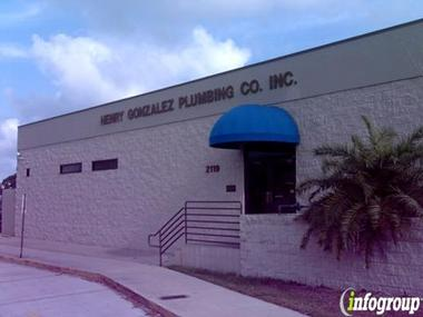 Henry Gonzalez Plumbing Co Inc