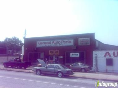 General Auto Parts &amp; Supplies