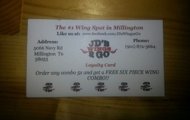J D's Wings 2 Go