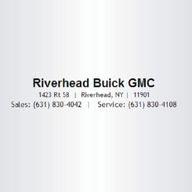 Riverhead Buick Pontiac Gmc