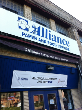 Alliance Paper &amp; Food Svc