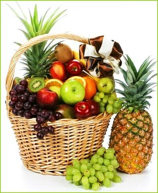Organic Fruit Baskets Florist