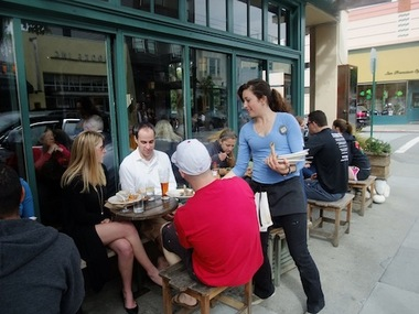 Al Fresco Dining in San Francisco